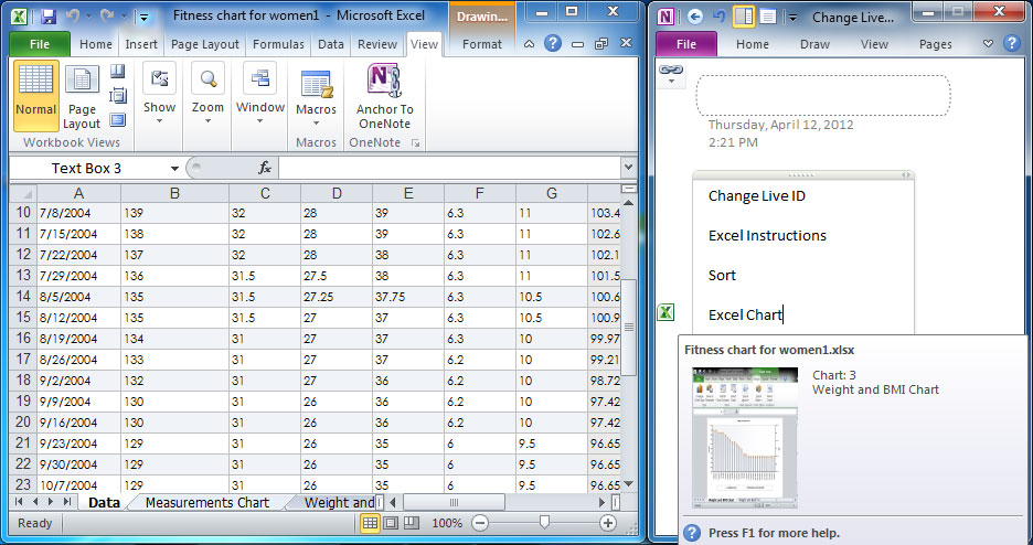 Anchor to OneNote Full